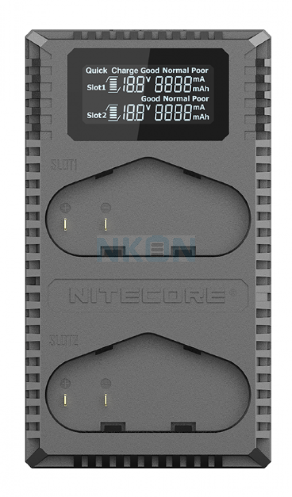 Nitecore UCN4 Pro - Canon (LP-E4/LP-E4N/LP-E19)