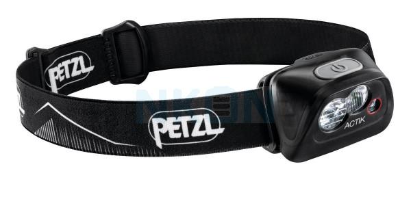 Petzl Actik Zwart Hoofdlamp - 350 Lumen