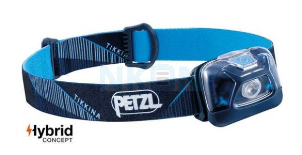 Petzl Tikkina Blauw Hoofdlamp - 250 Lumen