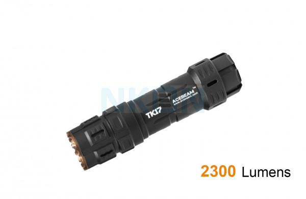 Acebeam TK17 Nichia 219 CRI 90+ Zaklamp