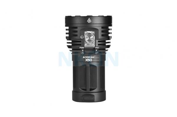 Acebeam X50-Multipurpose XHP70.2 Zaklamp (6500K)