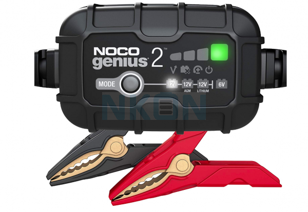 Noco GENIUS2 Multicharger 6/12V - 2A