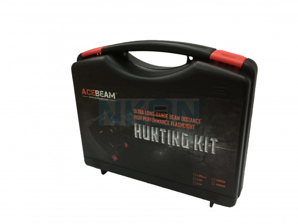 Acebeam L30 Gen II Zaklamp Cool White (6000K) - Hunting Kit