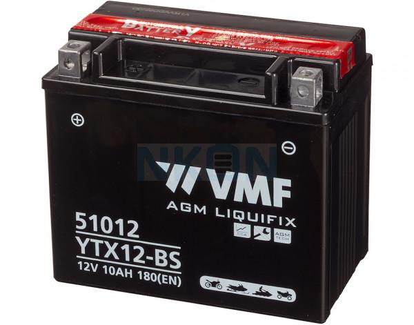 VMF Powersport MF 12V 10Ah Loodaccu