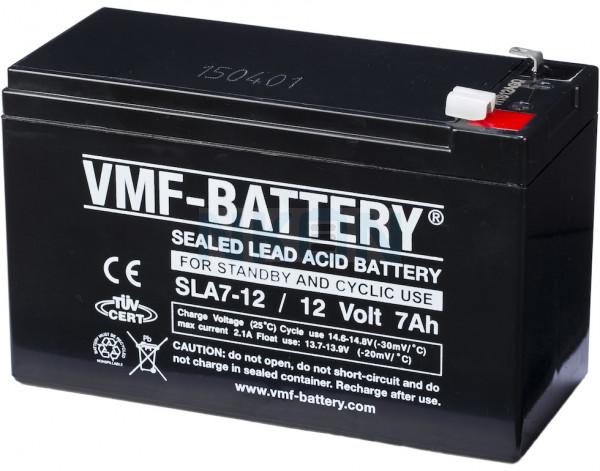 VMF 12V 7Ah Loodaccu
