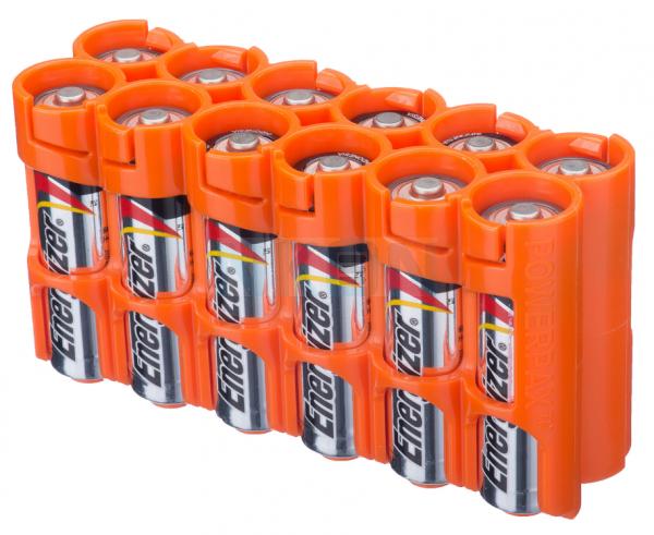 12 AA Powerpax Battery case