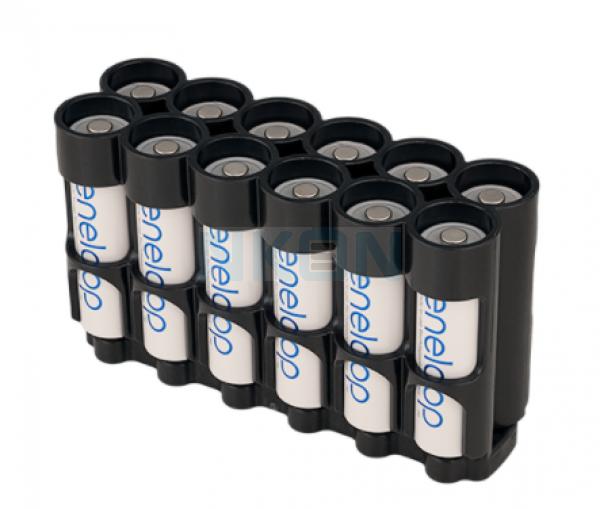 12 AA Powerpax Battery case - Magnetisch
