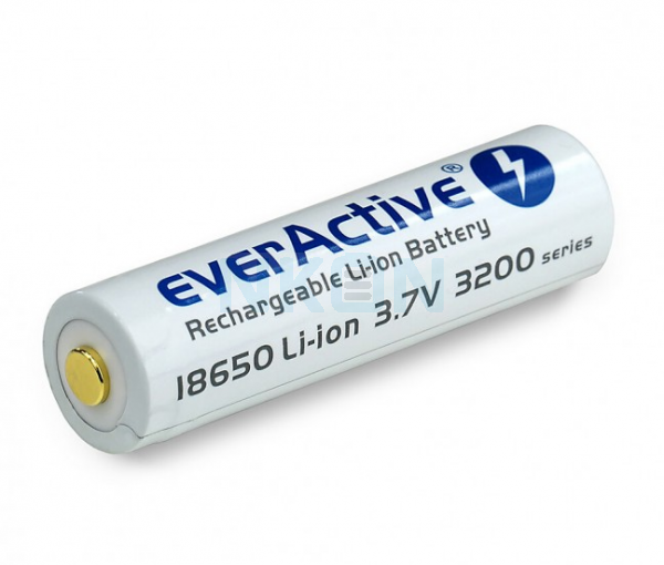 EverActive micro USB 18650 3200mAh (protected) - 7A