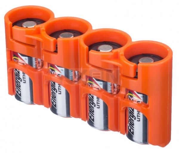 4 CR123A Powerpax Battery case