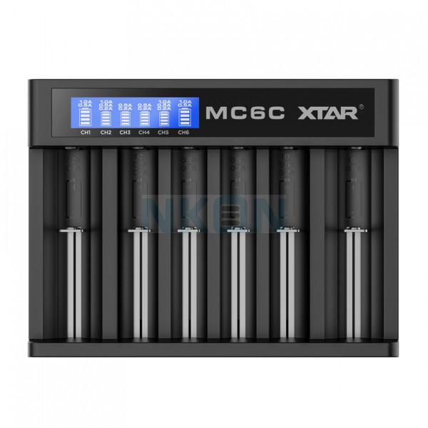 XTAR MC6C batterijlader