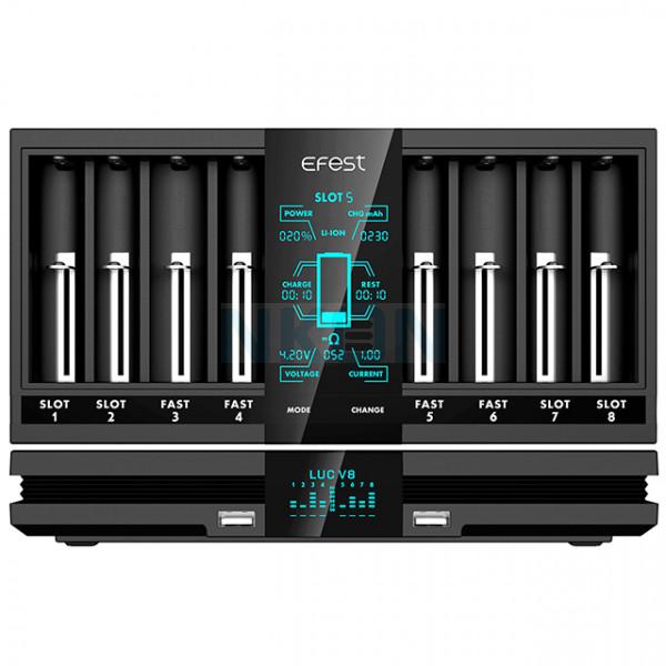 Efest LUC V8 batterijlader