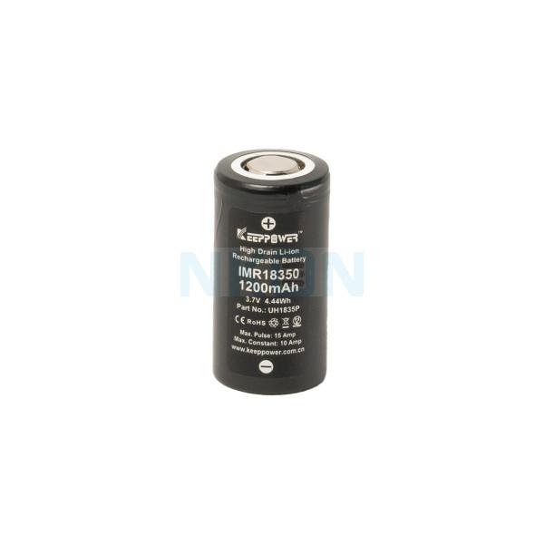 Keeppower IMR18350 1200mAh - 10A