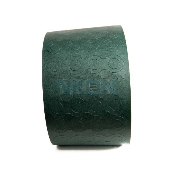 Isolatiepapier 4x18650 bovenkant