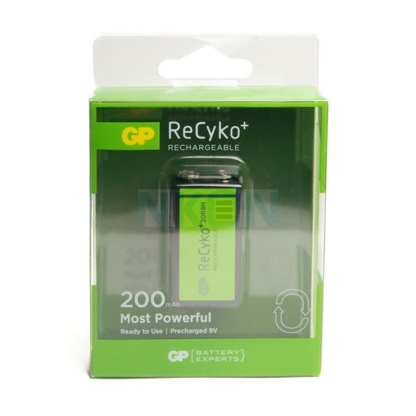 9V GP Recyko - 200mAh