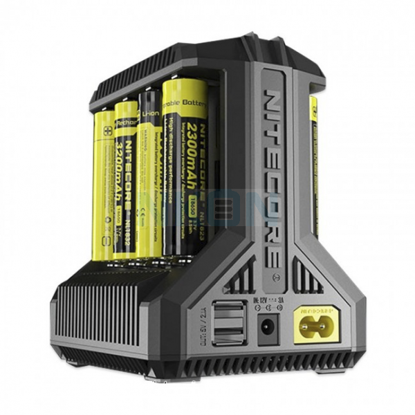 Nitecore Intellicharger i8 batterijlader