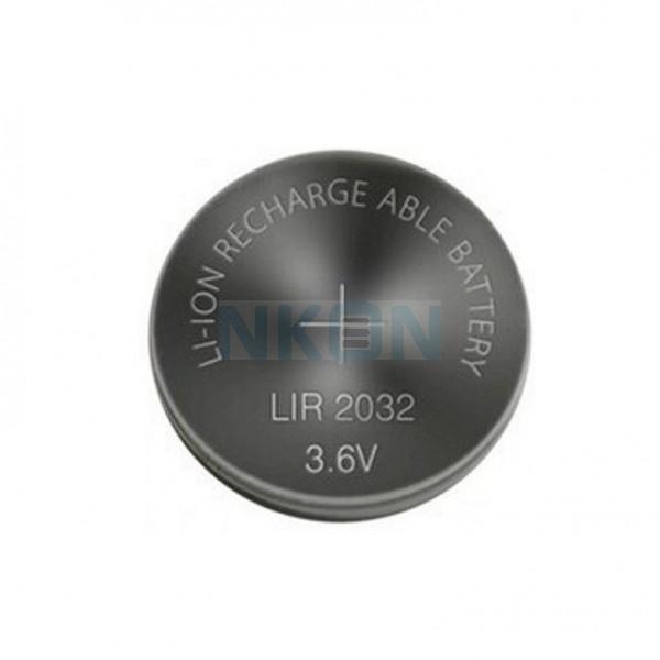 LIR2032 herlaadbare li-ion knoopcel - 3.6V