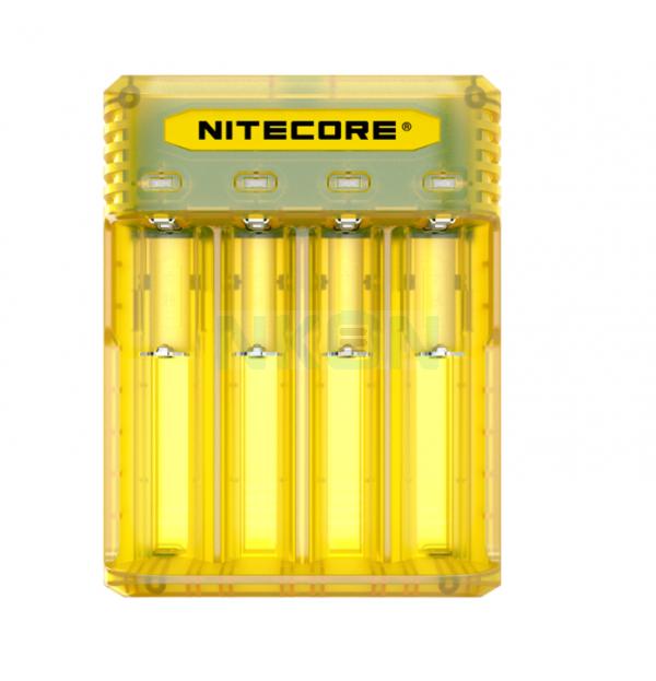 Nitecore Q4 batterijlader  - Juicy mango