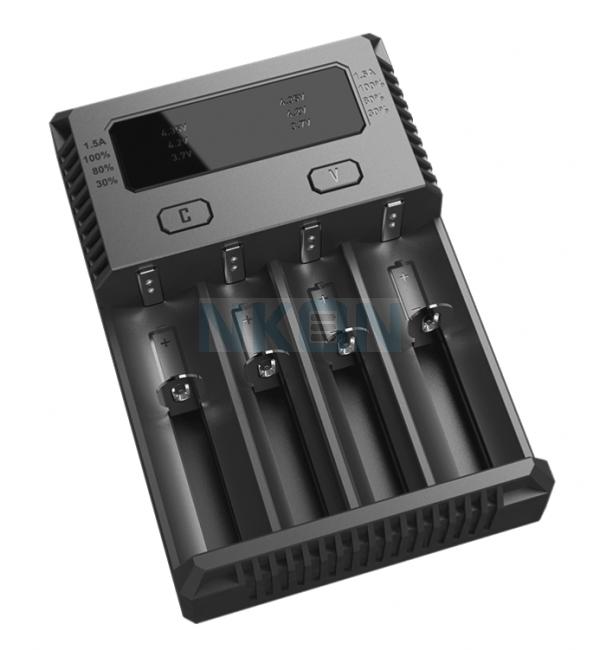 Nitecore Intellicharger i4 batterijlader