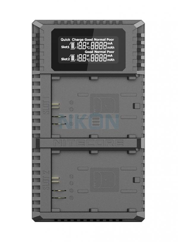 Nitecore UCN2 Pro - Canon (LP-E6N)