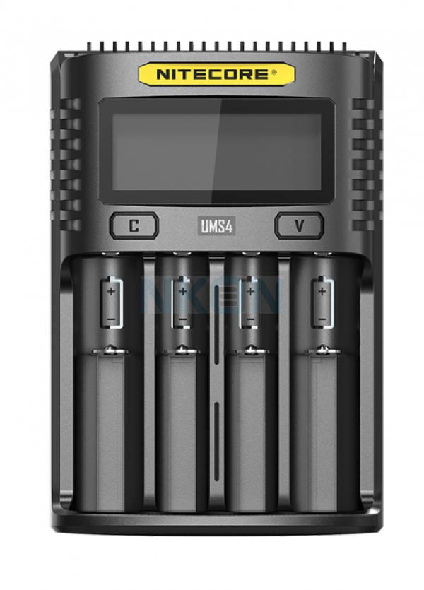 Nitecore UMS4 USB batterijlader