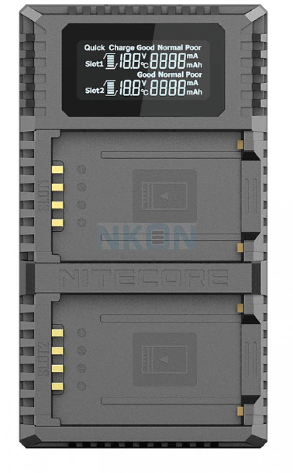 Nitecore FX2 Pro - Fuji (NP-T125)