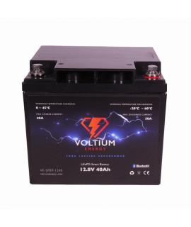 Voltium Energy 12.8V 40Ah - LiFePo4 (vervanging van loodaccu)