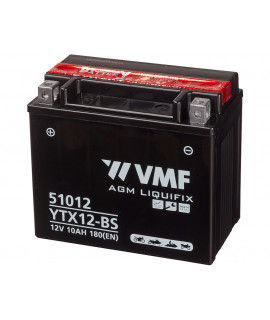 VMF Powersport MF 12V 10Ah Loodaccu
