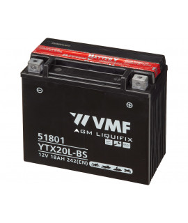 VMF Powersport MF 12V 18Ah Loodaccu