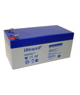 Ultracell 12V 3.4Ah Loodaccu