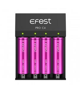 Efest Pro C4 batterijlader