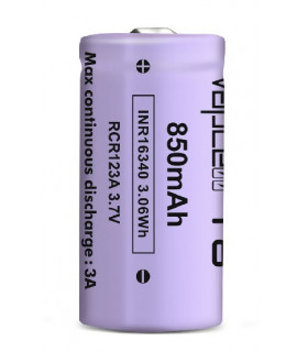Vapcell INR16340 850mAh - 3A Button Top
