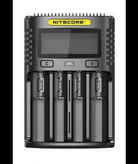 Nitecore UM4 USB batterijlader