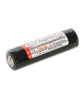 EagleTac 14500 750mAh - 1A (protected)
