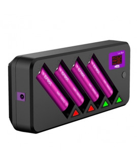 Efest LUC Blu4 batterijlader
