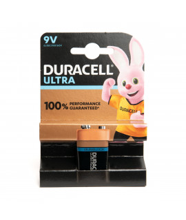 9V Duracell Ultra Power
