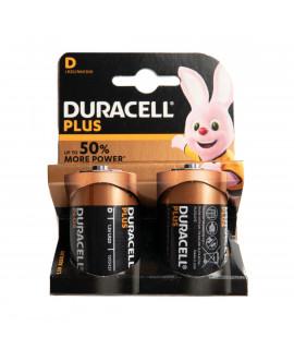 2x D Duracell Plus - 1.5V