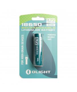 Olight 18650 2600mAh accu voor M-serie - blister