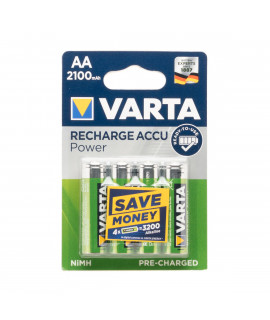 4 AA Varta Recharge Accu Power - 2100mAh