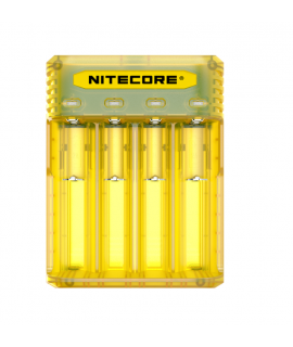 Nitecore Q4 batterijlader  - Juicy mango