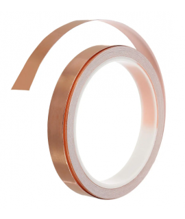 1 Roll Single Conductive Copper Foil Tape 10MM