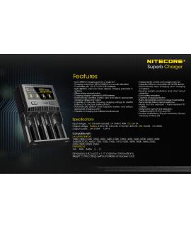 Nitecore SC4 batterijlader