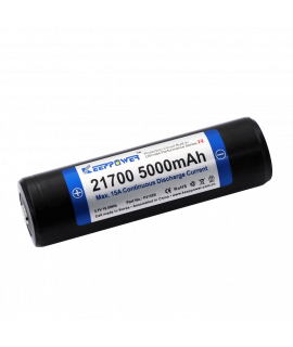 Keeppower 21700 5000mAh (protected) - 10A
