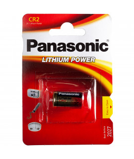 CR2 Panasonic Photo Power - blister - 3V
