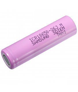 Samsung ICR18650-26J (26J3) - 2600mAh - 10A