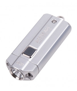 Acebeam UC15 Nichia 90+ CRI Zaklamp Zilver (inclusief 10440 batterijen)