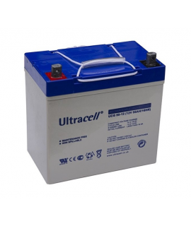Ultracell Deep Cycle Gel 12V 55Ah Loodaccu