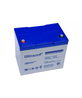 Ultracell Deep Cycle Gel 12V 75Ah Loodaccu