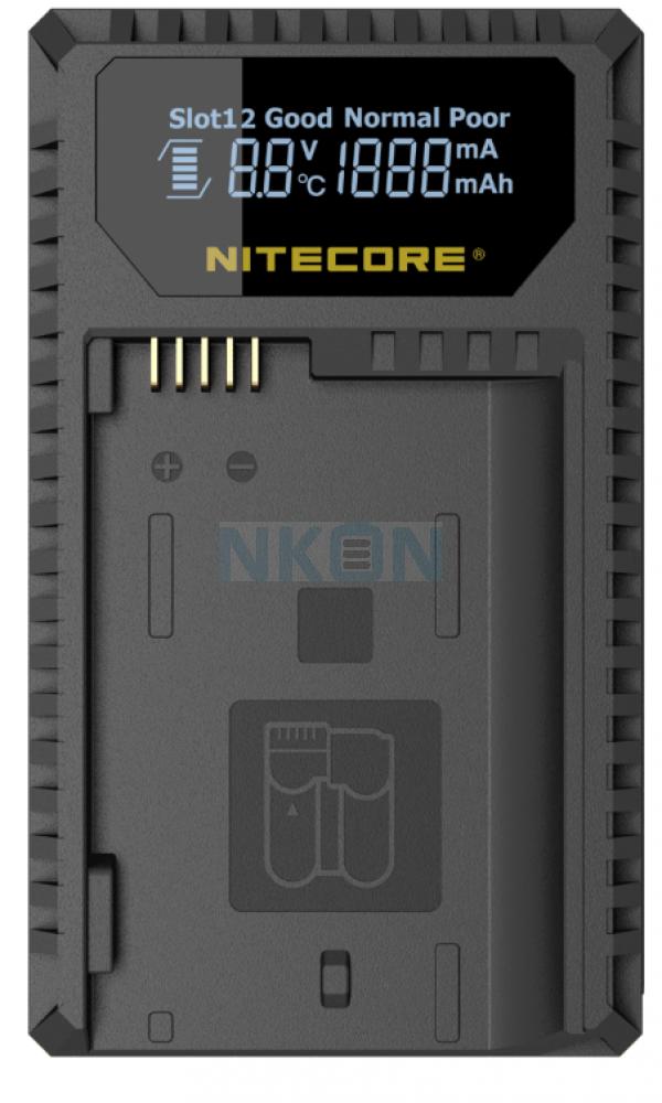 Nitecore UNK1 - Nikon (EN-EL14 / EN-EL14a & EN-EL15)