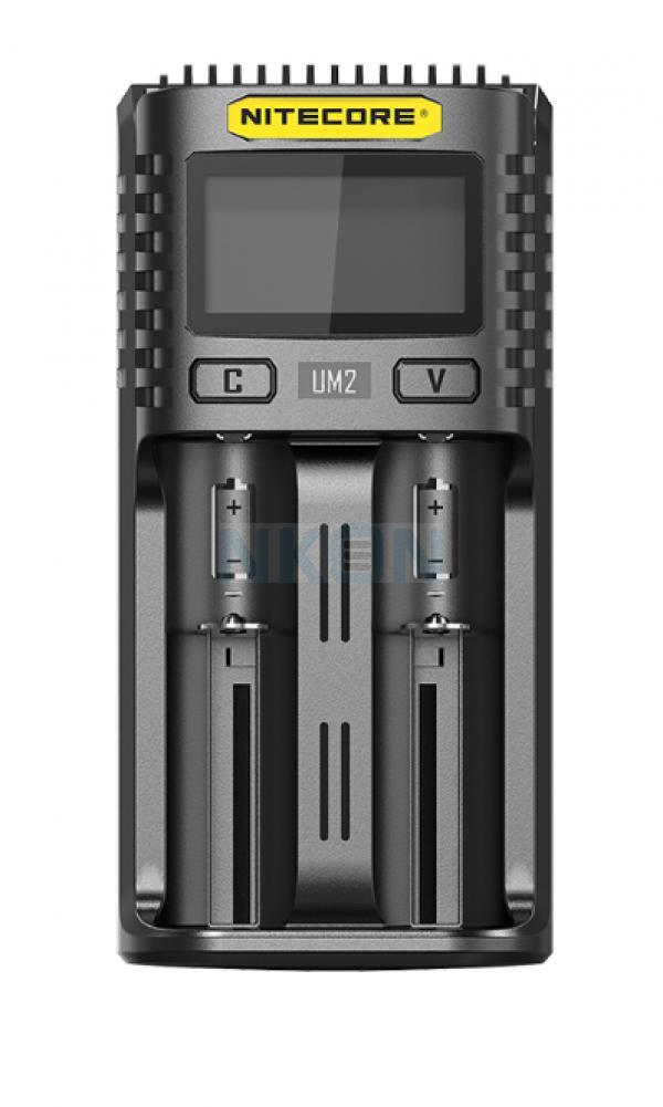 Carregador de bateria USB Nitecore UM2