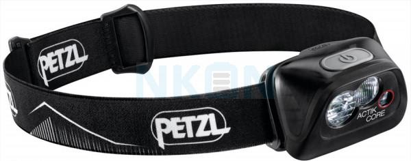 Petzl Actik Core Black Lâmpada Principal Preta - 450 Lumen